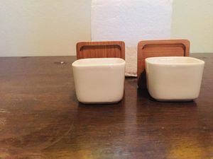 White ceramic pots for Sale in San Jose, CA