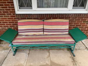 Outdoor glider sofa for Sale in Ambridge, PA