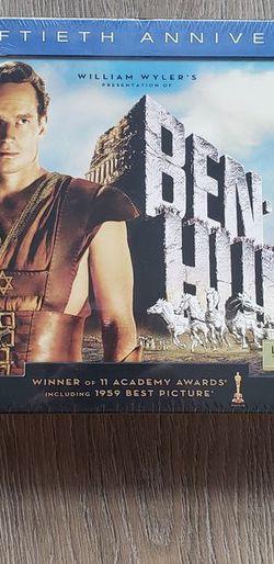 FACTORY SEALED Fiftieth Anniversary Ben Hur Blu-ray for Sale in Orlando,  FL