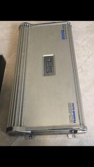 SPL Dk2 2000 Watts Amp for Sale in Fort Pierce, FL