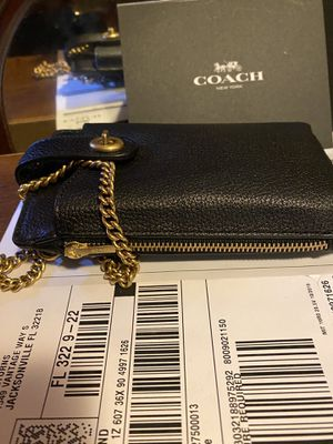 Coach leather phone case for Sale in Lakewood, WA