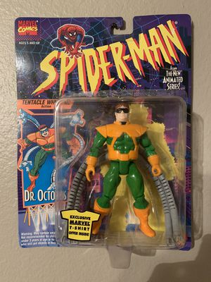Marvel Spider-Man Animated Series (1995) Dr.Octopus Toy Biz Figure NIP for Sale in Stockton, CA