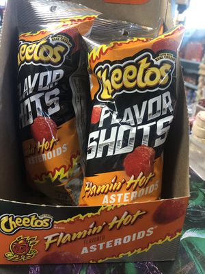 ASTEROIDS ☄️ FLAMING HOT CHEETOS for Sale in Los Angeles, CA