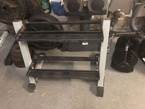 Dumbbell rack for Sale in Tampa, FL