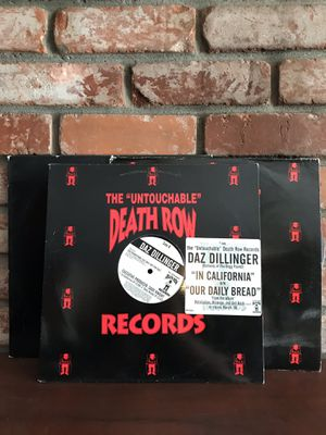 Death Row and Priority Records Promo LPs Gangster Rap for Sale in Alameda, CA