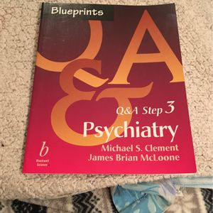 BLUE PRINTS - Q& A STEP 3 , PSYCHIATRY for Sale in Dunwoody, GA