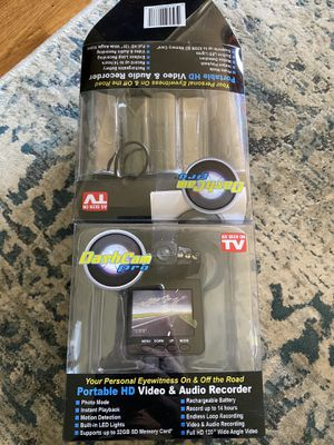 DashCam Pro Portable HD Video & Audio Recorder for Sale in Massapequa, NY