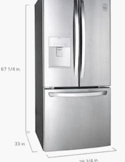 Brand New LG Refrigerator -30 Inches! 1 year warranty Still In Packaging!!!! for Sale in Castro Valley,  CA