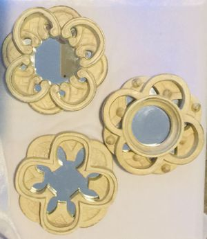 Wall art sculpted mirrors for Sale in Las Vegas, NV