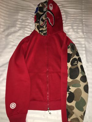 Red BAPE Hoodie LIMITED EDITION for Sale in Washington, DC