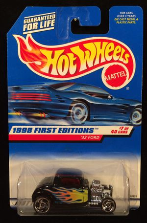 Hot Wheels '32 Ford First Editions Sawblade Spoke Variation • Hard to Find • Near Mint • Will Ship Nationwide for Sale in Fort Worth, TX