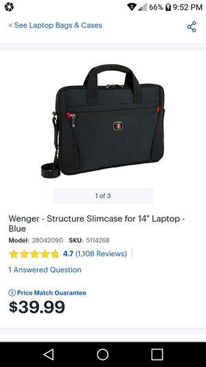 swissgear 8869 laptop messenger bag for Sale in UPPER ARLNGTN, OH