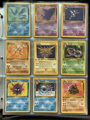 Pokemon WOTC 1st Edition Fossil Set (26) Cards for Sale in Orlando, FL