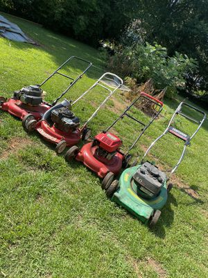 Parts or repair lawn mowers for Sale in Stone Mountain, GA