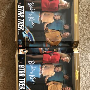 Star Trek Barbie And Ken New Never Opened for Sale in Humble, TX