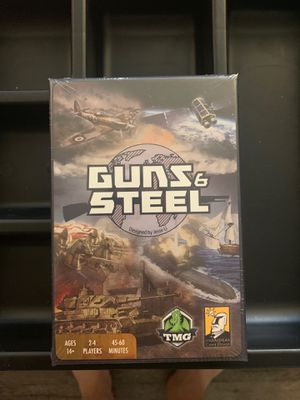 Guns & Steel Board Game (New In Shrink) for Sale in Torrance, CA