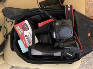 Canon 90D + accessories for Sale in Fort Worth, TX