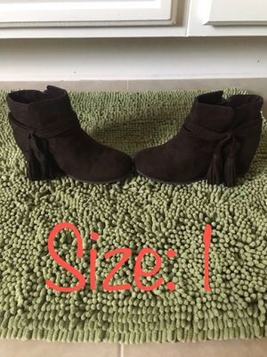 Girls Brown Boots for Sale in Chula Vista, CA