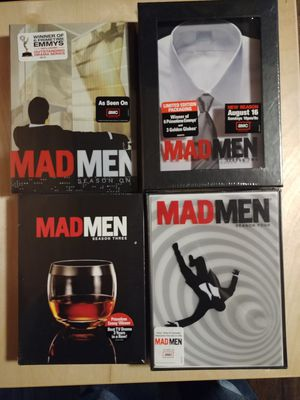 Mad Men season 1-4 new unopened DVD sets for Sale in Alexandria, VA
