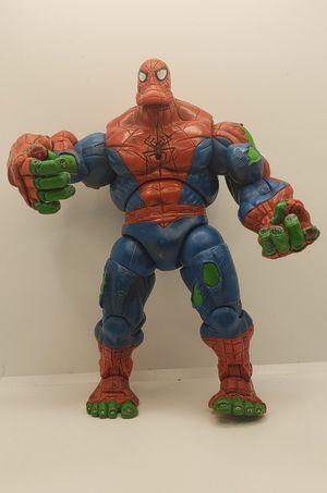rare 2006 Toy Biz Spider-Hulk figure good condition / missing 1 finger for Sale in Davis, CA