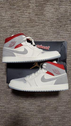 DS Sneakersnstuff Jordan 1 Mid Size 13 CT3443 100 for Sale in Seattle, WA