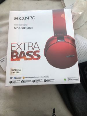 Sony wireless headphone for Sale in Manassas, VA