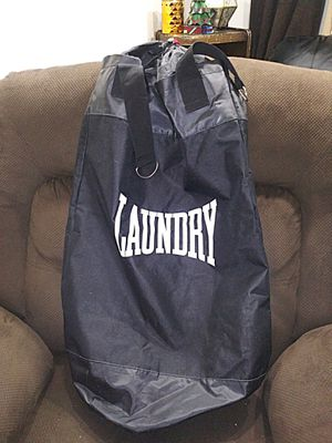 Hanging Laundry bag made to look like Punching bag/Never used $12 for Sale in Richland, WA