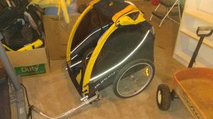 Burley twin bike trailer with jogger attachment and brake! for Sale in Clackamas, OR