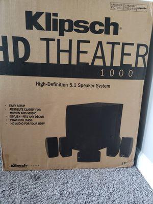 Klipsch HD Theater 1000 for Sale in Marietta, GA