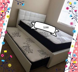 Full size trundle bed for Sale in Tucson, AZ