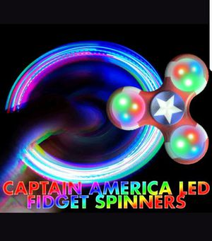 Spinners captain america wholesale or single for Sale in Richmond, CA