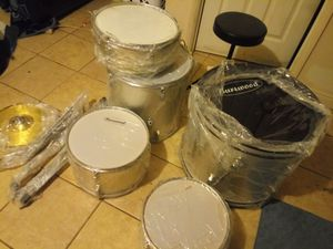 Brand new drum set everything including for Sale in Las Vegas, NV