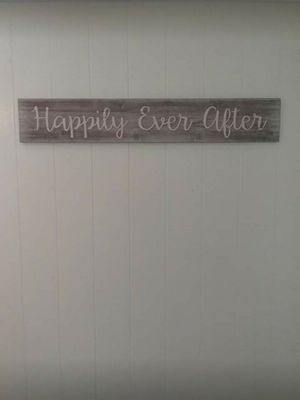 Happily Ever After shabby chic sign for Sale in Honolulu, HI