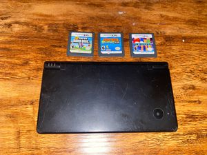 DSi + 3 Games for Sale in Rialto, CA