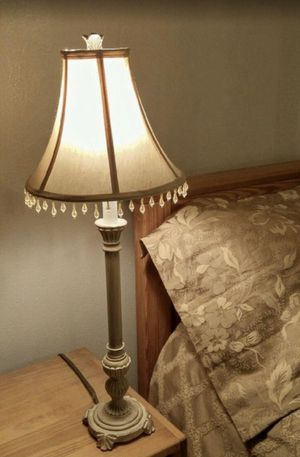 Nightstand Table Lamp 28 in. - 2 available for Sale in Converse, TX