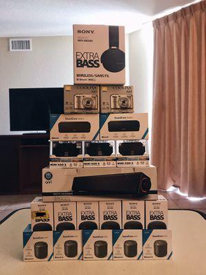 Sony Anker Nikon Beats Headphones Speakers Brand New for Sale in Pembroke Pines, FL