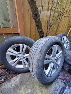 Chevy equinox rims and tires for Sale in Portland, OR