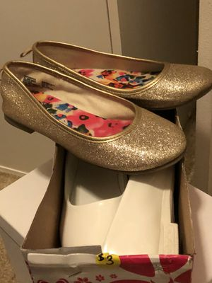 Girls dress shoes size 13 and 13 1/2 for Sale in Virginia Beach, VA