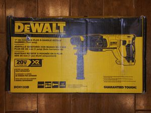 DEWALT 20-Volt MAX XR Lithium-Ion 1 in. Cordless SDS-Plus Brushless D-Handle Concrete & Masonry Rotary Hammer (Tool-Only) for Sale in Montrose, CA