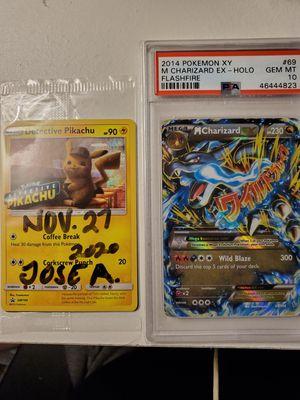 Pokemon m charizard psa 10 for Sale in Dallas, TX