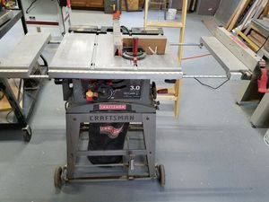 "10"" craftsman table saw for Sale in Kittanning, PA"