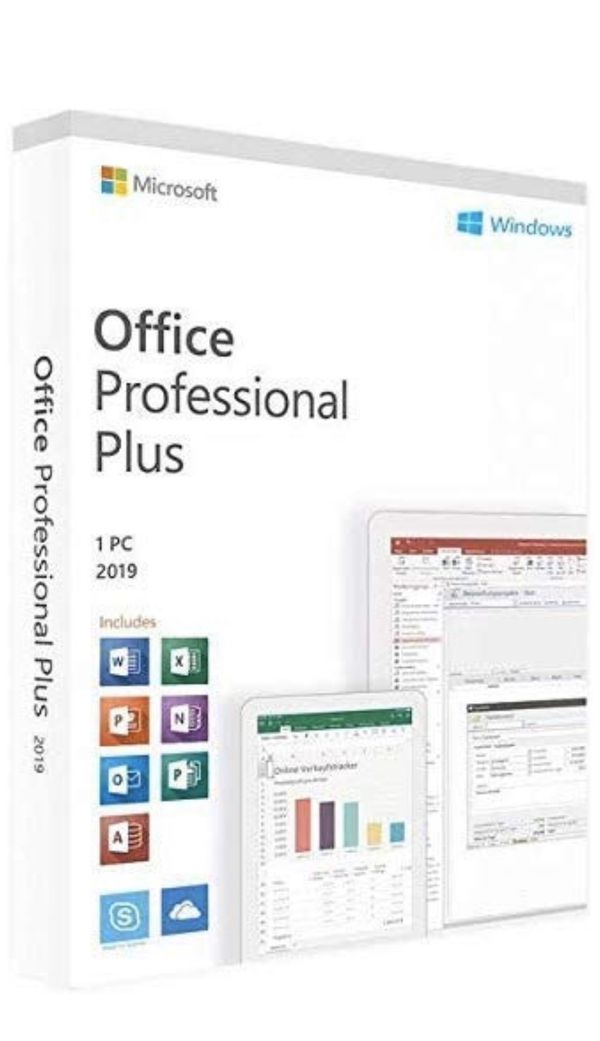 Microsoft Office Pro Plus 2019 lifetime KEY