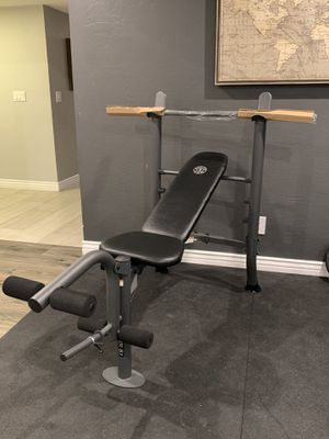 Gold's Gym XR 8.1 bench press NEW for Sale in Glendale, AZ