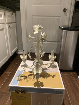 Brand new shabby chic chandelier for Sale in Oklahoma City, OK