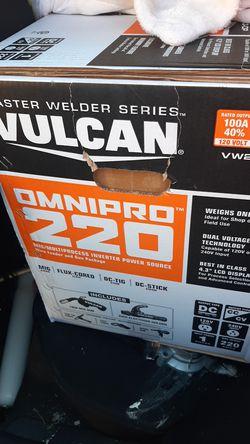 Vulcan tig welder/stick welder/mig for Sale in Salt Lake City,  UT