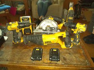 Dewalt Combination power tools for Sale in Sacramento, CA