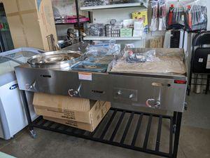 3 Compartment Taco Cart/ Carro Taquero for Sale in Victorville, CA