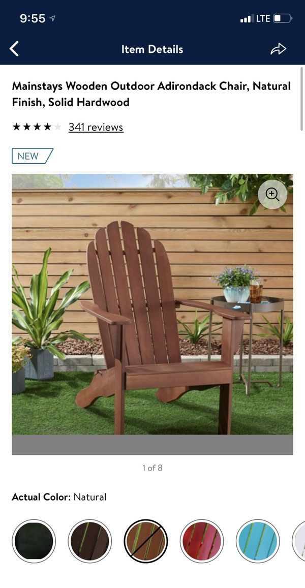 Mainstays wooden chair