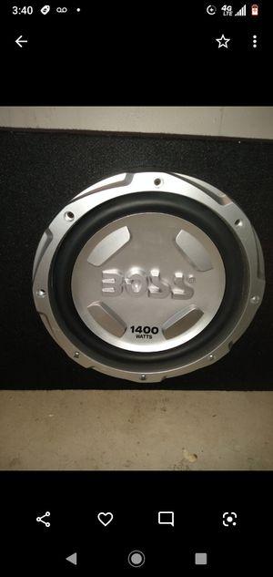 Boss 1400 watts speakers. for Sale in Las Vegas, NV