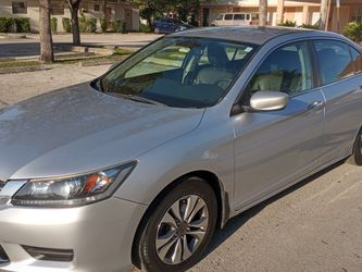 2013 Honda Accord Leather Int, 113000 Miles, New Tires,runs Perfect for Sale in Miami,  FL